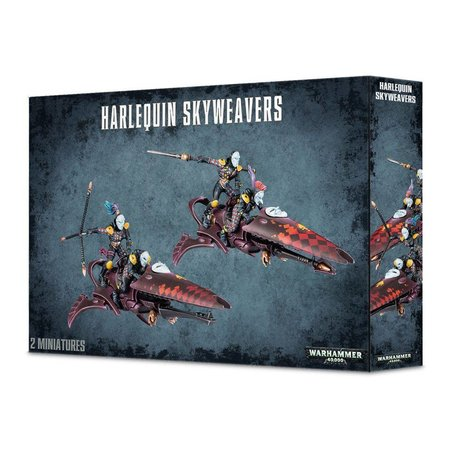 Games Workshop Warhammer 40,000 Xenos Aeldari Harlequins: Skyweavers