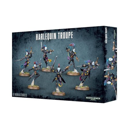 Games Workshop Warhammer 40,000 Xenos Aeldari Harlequins: Harlequin Troupe