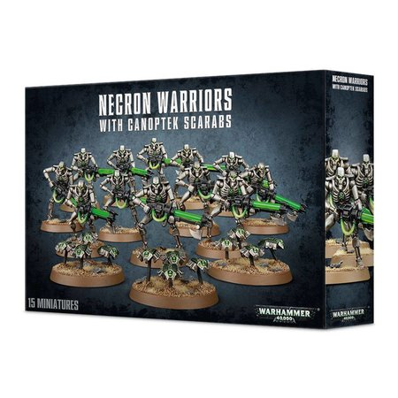 Games Workshop Warhammer 40,000 Xenos Necrons: Necron Warriors