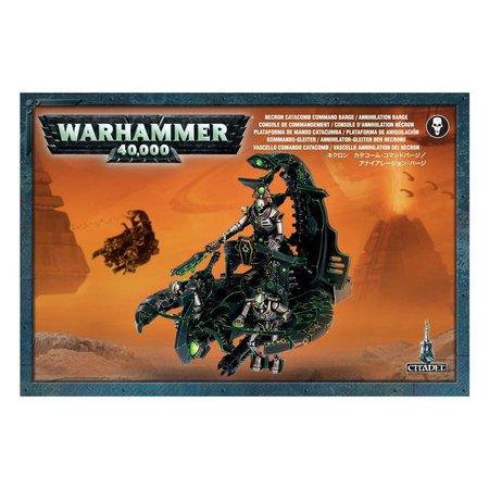 Games Workshop Warhammer 40,000 Xenos Necrons: Catacomb Annihilation Barge/Command Barge