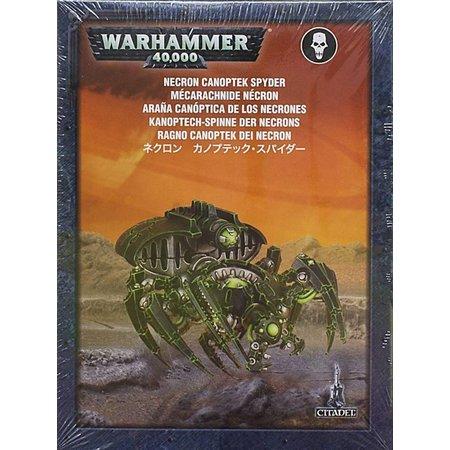Games Workshop Warhammer 40,000 Xenos Necrons: Canoptek Spyder