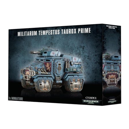 Games Workshop Warhammer 40,000 Imperium Astra Militarum/Militarum Tempestus: Taurox/Taurox Prime