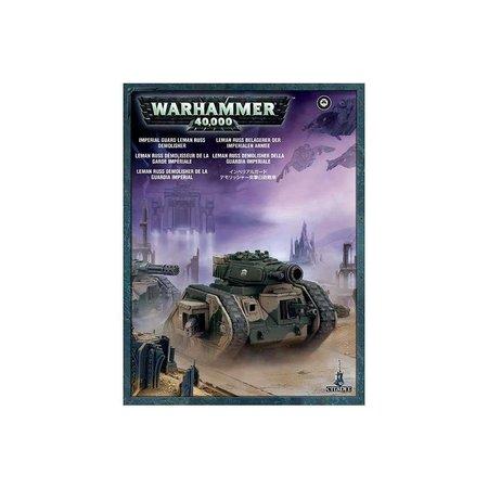 Games Workshop Warhammer 40,000 Imperium Astra Militarum: Leman Russ Demolisher/Executioner/Punisher