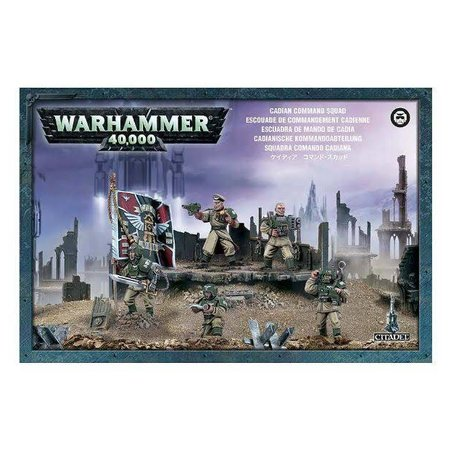 Games Workshop Warhammer 40,000 Imperium Astra Militarum: Cadian Command Squad