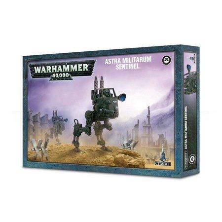 Games Workshop Warhammer 40,000 Imperium Astra Militarum: Scout Sentinel/Sentinel