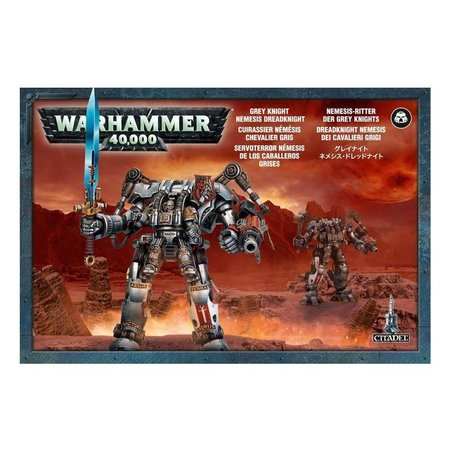 Games Workshop Warhammer 40,000 Imperium Adeptus Astartes Grey Knights: Nemesis Dreadknight
