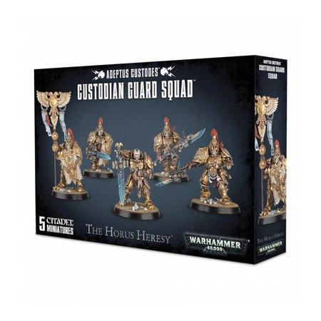 Games Workshop Warhammer 40,000 Imperium Adeptus Custodes: Custodian Guard Squad
