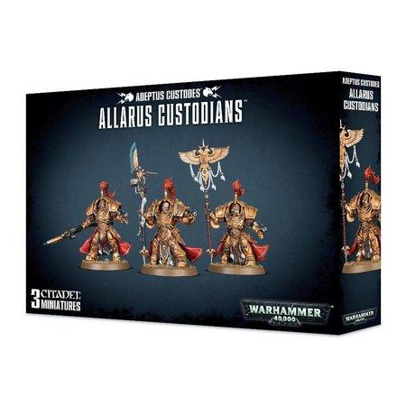 Games Workshop Warhammer 40,000 Imperium Adeptus Custodes: Allarus Custodians