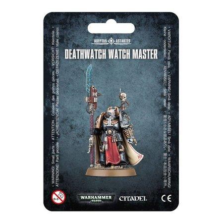 Games Workshop Warhammer 40,000 Imperium Adeptus Astartes Deathwatch: Watch Master