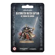 Warhammer 40,000 Imperium Adeptus Astartes Deathwatch: Watch Captain in Terminator Armour