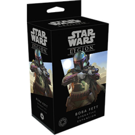 Fantasy Flight Star Wars Legion: Boba Fett Operative Expansion *