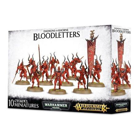 Games Workshop Age of Sigmar/Warhammer 40,000 Daemons of Khorne: Bloodletters