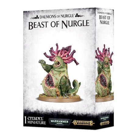 Games Workshop Age of Sigmar/Warhammer 40,000 Daemons of Nurgle: Beast of Nurgle