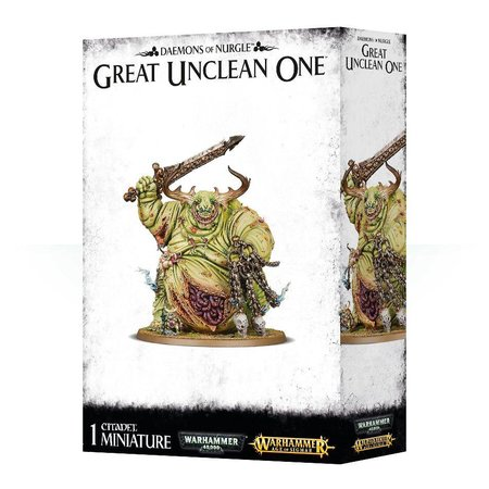 Games Workshop Age of Sigmar/Warhammer 40,000 Daemons of Nurgle: Great Unclean One/Rotigus