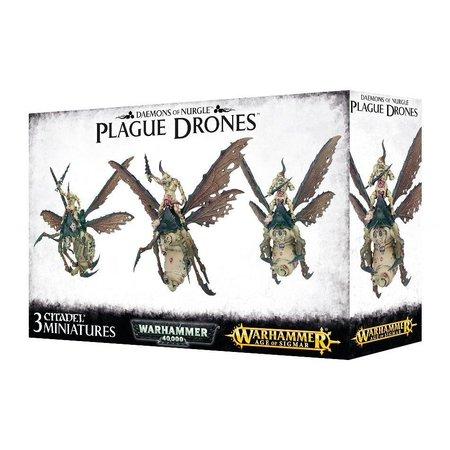 Games Workshop Age of Sigmar/Warhammer 40,000 Daemons of Nurgle: Plague Drones