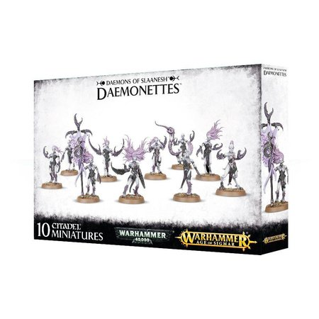 Games Workshop Age of Sigmar/Warhammer 40,000 Daemons of Slaanesh: Daemonettes of Slaanesh