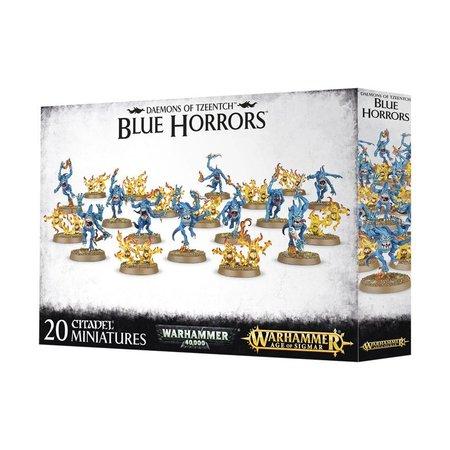 Games Workshop Age of Sigmar/Warhammer 40,000 Daemons of Tzeentch: Blue & Brimstone Horrors