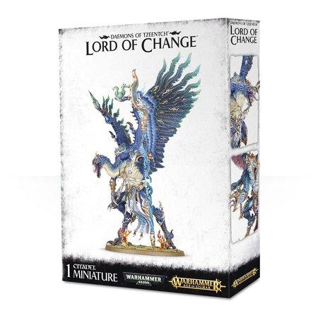 Games Workshop Age of Sigmar/Warhammer 40,000 Daemons of Tzeentch: Kairos Fateweaver/Lord of Change