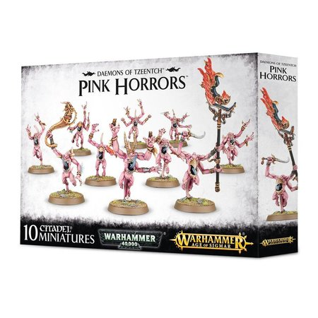 Games Workshop Age of Sigmar/Warhammer 40,000 Daemons of Tzeentch: Pink Horrors