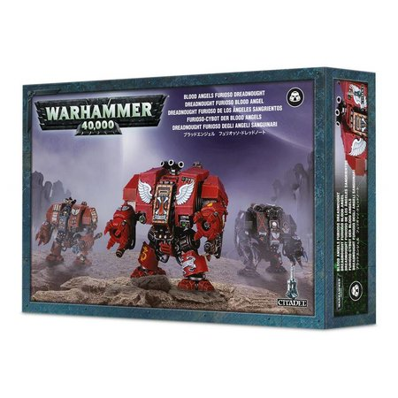 Games Workshop Warhammer 40,000 Imperium Adeptus Astartes Blood Angels: Furioso Dreadnought