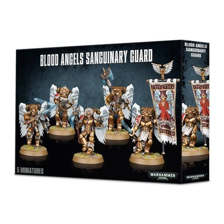 Games Workshop Warhammer 40,000 Imperium Adeptus Astartes Blood Angels: Sanguinary Guard