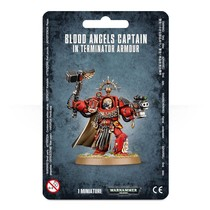Warhammer 40,000 Imperium Adeptus Astartes Blood Angels: Captain in Terminator Armour