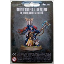 Warhammer 40,000 Imperium Adeptus Astartes Blood Angels: Librarian in Terminator Armour
