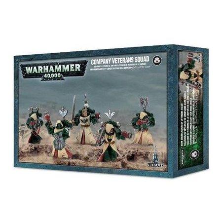 Games Workshop Warhammer 40,000 Imperium Adeptus Astartes Dark Angels: Dark Angels Company Veterans Squad