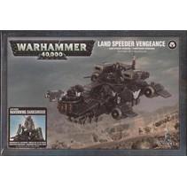 Warhammer 40,000 Imperium Adeptus Astartes Dark Angels: Land Speeder Vengeance/Ravenwing Darkshroud