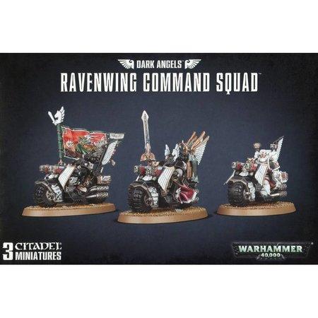 Games Workshop Warhammer 40,000 Imperium Adeptus Astartes Dark Angels: Ravenwing Command Squad