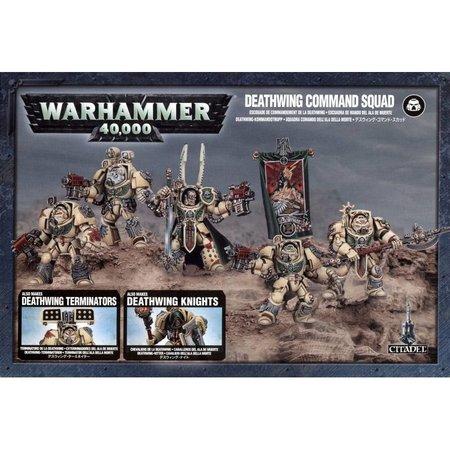 Games Workshop Warhammer 40,000 Imperium Adeptus Astartes Dark Angels: Deathwing Command/Knight/Terminator Squad
