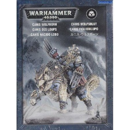Games Workshop Warhammer 40,000 Imperium Adeptus Astartes Space Wolves: Canis Wolfborn
