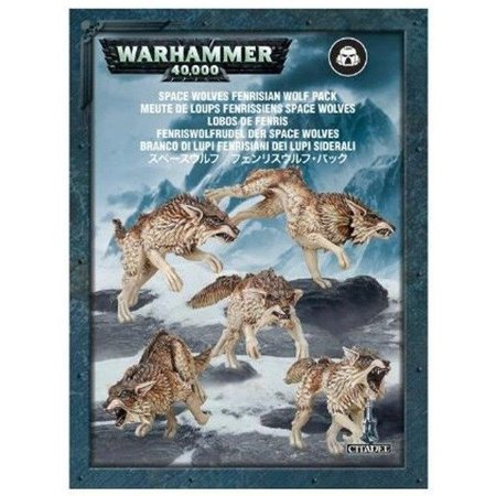 Games Workshop Warhammer 40,000 Imperium Adeptus Astartes Space Wolves: Fenrisian Wolf Pack