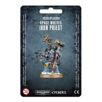 Warhammer 40,000 Imperium Adeptus Astartes Space Wolves: Iron Priest