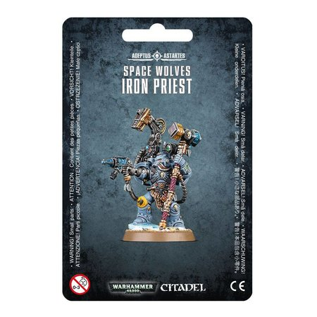 Games Workshop Warhammer 40,000 Imperium Adeptus Astartes Space Wolves: Iron Priest