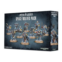 Warhammer 40,000 Imperium Adeptus Astartes Space Wolves: Space Wolves Pack
