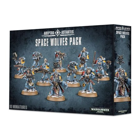 Games Workshop Warhammer 40,000 Imperium Adeptus Astartes Space Wolves: Space Wolves Pack