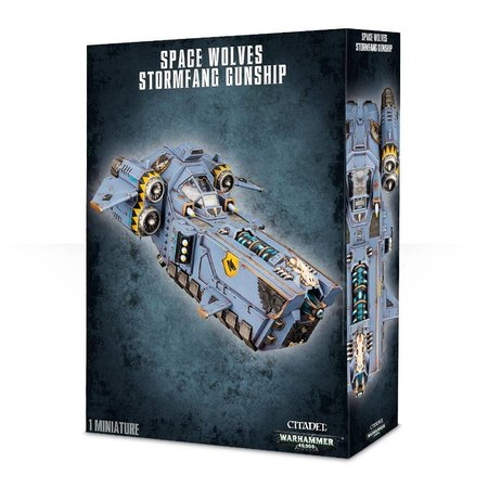 Games Workshop Warhammer 40,000 Imperium Adeptus Astartes Space Wolves: Stormfang Gunship
