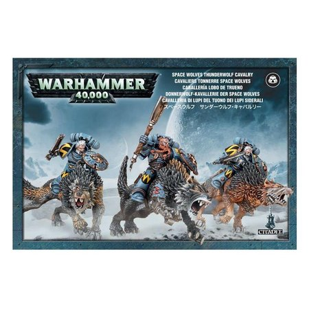 Games Workshop Warhammer 40,000 Imperium Adeptus Astartes Space Wolves: Thunderwolf Cavalry