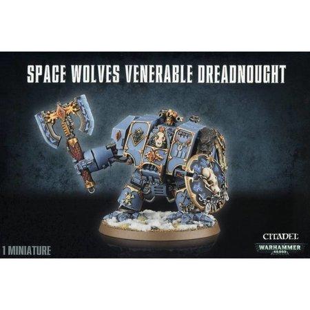 Games Workshop Warhammer 40,000 Imperium Adeptus Astartes Space Wolves: Venerable Dreadnought