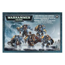 Warhammer 40,000 Imperium Adeptus Astartes Space Wolves: Wolf Guard Terminators