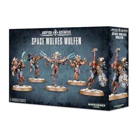 Games Workshop Warhammer 40,000 Imperium Adeptus Astartes Space Wolves: Wulfen