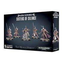 Warhammer 40,000 Imperium Sisters of Silence - The Horus Heresy: Prosecutors/Vigilators/Witchseekers