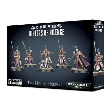 Games Workshop Warhammer 40,000 Imperium Sisters of Silence - The Horus Heresy: Prosecutors/Vigilators/Witchseekers