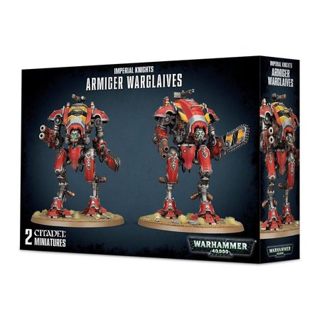 Games Workshop Warhammer 40,000 Imperium Imperial Knights: Armiger Warglaives