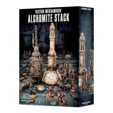Games Workshop Warhammer 40,000 Terrain: Sector Mechanicus - Alchomite Stack