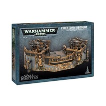 Warhammer 40,000 Terrain: Wall of Martyrs - Firestorm Redoubt