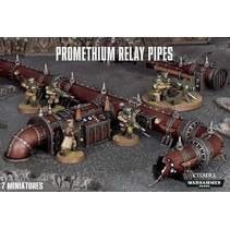 Warhammer 40,000 Terrain: Promethium Relay Pipelines