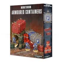Warhammer 40,000 Terrain: Munitorium Armoured Containers