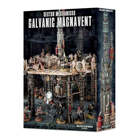 Games Workshop Warhammer 40,000 Terrain: Sector Mechanicus - Galvanic Magnavent